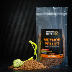 Micro Pellets Feeder Bait Natural 4mm Halibut
