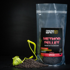 Micro Pellets Feeder Bait Spice 4mm Black Chili