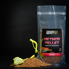 Micro Pellets Feeder Bait Spice 4mm Chili